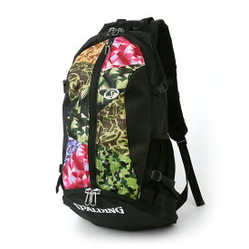 バスケット専用バッグケイジャー ミックスカモ スポルディング NBA公式球ブランドSPADLING製 CAGER BASKETBALL BAG Backpack バックパック