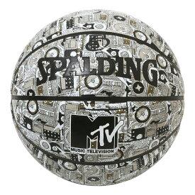 バスケットボール SPALDING ラバーボール MTV ミックステープ 7号 外用