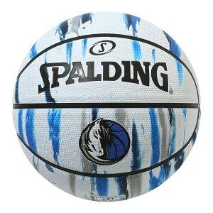 バスケットボール SPALDING ラバーボール マーベリックス マーブル 7号 外用