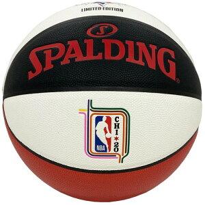 バスケットボール SPALDING オールスター マネーボール レプリカ 7号 合成皮革