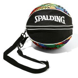 バスケットボールバッグ1球入れ SPADLING製 BALLBAG オプティカルレインボー スポルディング