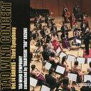 タッド・ウィンド・コンサート(14)ジェームズ・バーンズ:交響曲第3番Third Symphony【吹奏楽 CD】
