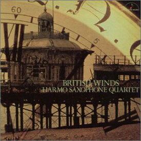 【お取り寄せします 約7日間】ブリティッシュ・ウィンズ アルモ・サクソフォン・クァルテット【サクソフォーン アンサンブル CD】MM-1039