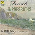 フレンチ・インプレッションズ演奏:アメリカ空軍バンドFrenchImpressions【吹奏楽CD】K11203