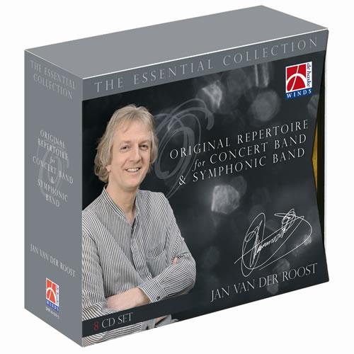 エッセンシャル・コレクション〜ヤン・ヴァンデルロースト作品集【CD8枚組】 The Essential Collection 〜 Original Repertoire for Concert Band & Symphonic Band【吹奏楽 CD】