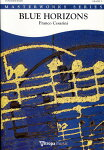 ブルー・ホライズン(青い水平線)作曲:フランコ・チェザリーニBlueHorizons【吹奏楽-楽譜セット】