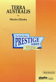 オーストラリアの大地 作曲:マーティン・エレビー Terra AustralisMartin Ellerby【吹奏楽 楽譜セット】