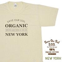 SOSプリントTシャツ[NEWYORK]