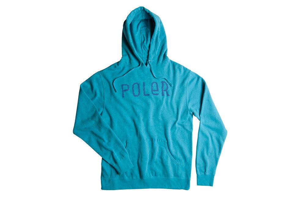POLER- Pull Over Hoodie ポーラー プルオーバーフーディーFurry Font TQ