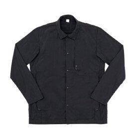 alk phenixアルクフェニックスkaru shirt/garment dye-BLACK-