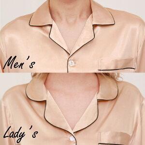 男女サテンパジャマ長袖33