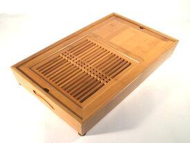 竹製茶盤 特大船形