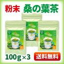 桑の葉茶 粉末 青汁 熊本県産 国産100g×3袋 健康茶 桑の葉 桑茶 効能 ダイエット 送料無料