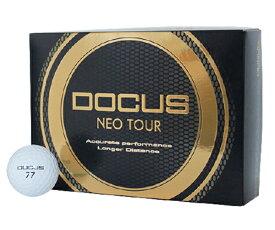 【21年モデル】ドゥーカス DOCUS haraken DCB761 ネオツアーボール ホワイト 1ダース(12球入り) Tour Ball