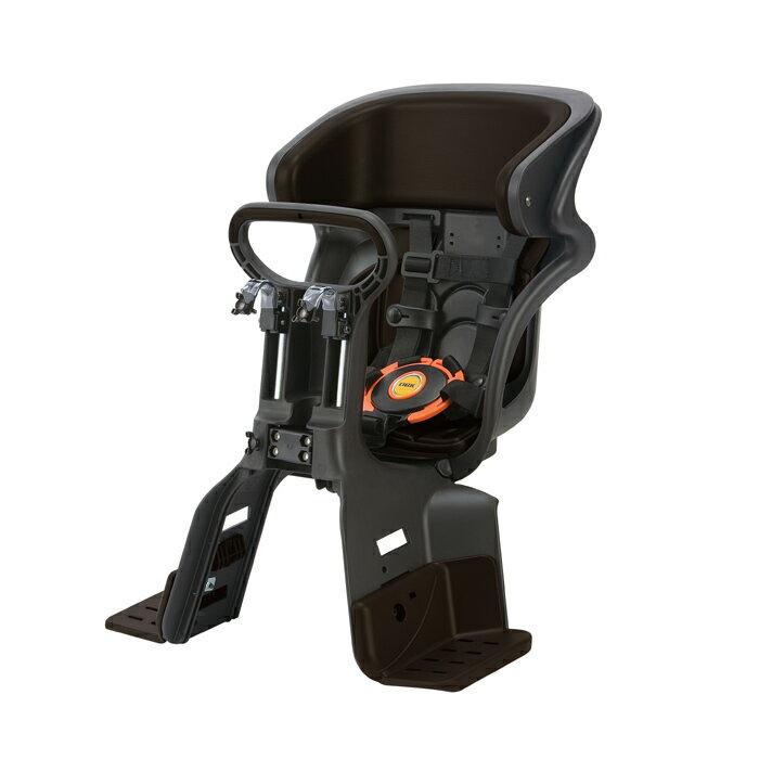 【送料無料】 ヘッドレスト付コンフォートフロント子供のせ ブラック・こげ茶 FBC-011DX3-CT|OGK| 黒・こげ茶 |自転車|椅子|ヘッドレスト|シート|オージーケー|おしゃれ|安全|チャイルド|子供用| 10P18Jun16