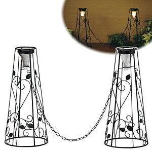 【送料無料】ソーラークローズゲート コーン si-1054 ソーラー コーン 装飾 DIY LED センサー ライト スタック おしゃれ かわいい 玄関 エントランス 庭 ガーデン スタッキング 屋外 セトクラフ