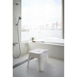 引っ掛け風呂イス タワー ホワイト 山崎実業 YAMAZAKI バス お風呂 椅子 チェア フック 乾かす 形状 便利 おしゃれ シンプル