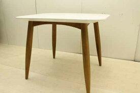 【アウトレット】 ダイニングテーブル 幅100 dtb-ak-s オークウッド ホワイト 白 インテリア 収納 ダイニングセット 中古 家具