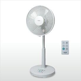 【あす楽】【送料無料】【新品 未使用】【扇風機】 テクノス フルリモコン DCモーター リビング扇風機 KI-323DC 30cm 5枚羽根 ホワイト おすすめ おしゃれ 安い 静か