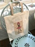 【バラクライングリッシュガーデン】【バラ色の暮し】妖精トートバッグ