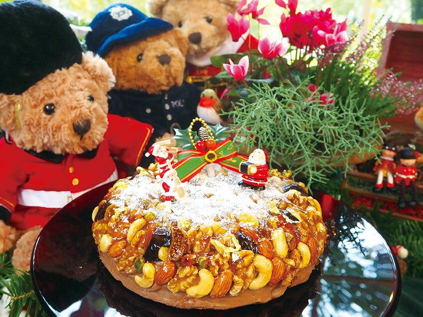 [B-1] 英国伝統のヴィクトリアン クリスマスケーキ 大サイズ