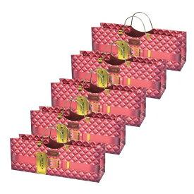 パースワインバッグ ピンク 1本用 5枚セット