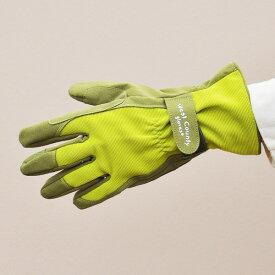 特価 ウエストカウンティークラシック【ライム】(革手袋、皮手袋、ガーデングローブ、レディース メンズ、園芸手袋) ※土セットと同梱可※ 期間限定 SALEアイテム