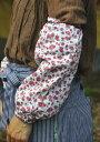 特価 防蚊UV加工 ガーデニング用アームカバー【ブラック/ローズ】ウィズガーデンプレミアムシリーズ Arm cover revers…