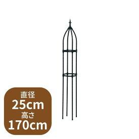 組み立て簡単ローズオベリスク 25cm×170cm ZIK-10000