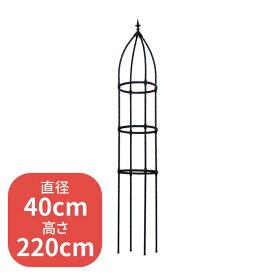 組み立て簡単ローズオベリスク 40cm×220cm ZIK-10000