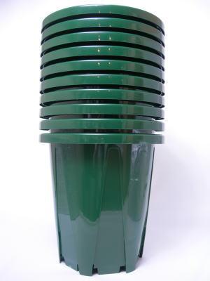 【10号×10鉢】高品質スリット鉢 10号×10鉢まとめ買い特売品 ZIK-10000