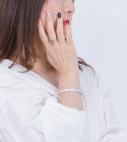 【送料無料】ペリドットムーンストーンリング指輪フラワーペリトットハンドメイドジュエリーアクセサリーレディースジュエリープレゼント40代50代ファッションセレクトジュエリー贈り物【楽ギフ_包装】