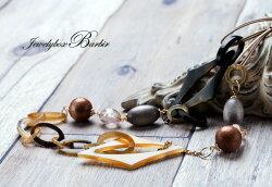 【送料無料】水牛ネックレスロングネックレスウッドバッファローホーン天然石ジュエリーアクセサリーレディースジュエリー品質保証プレゼント贈り物ファッションセレクトジュエリー30代40代50代