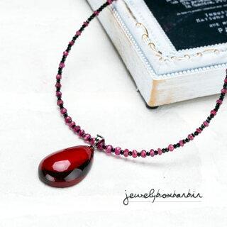 ルビー赤琥珀レッドアンバー琥珀コハク天然石ネックレスペンダントジュエリーアクセサリーレディースジュエリー品質保証プレゼント贈り物ファッションセレクトジュエリー30代40代50代バレンタイン