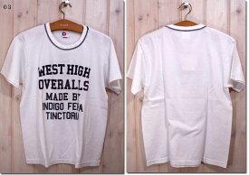 DENIME 【ドゥニーム】 WEST HIGHプリント半袖Tシャツ 71-91-0854  【10P09Jul16】