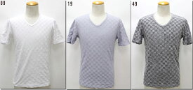 NICOLE CLUB FOR MEN 【ニコルクラブフォーメン】 リンクスVネック半袖Tシャツ  6264-9704 【10P09Jul16】