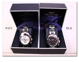 TECHNOS chronograph mens watch TBM 634-enabled