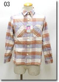 HOUSTON 【ヒューストン】 VINTAGE CHECK WORK SHIRT ヴィンテージチェックシャツ  40251