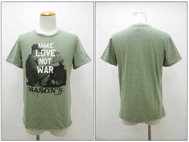 MASON'S 【メイソンズ】 プリント半袖Tシャツ MM4306 【10P09Jul16】