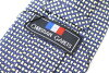 Used brand clothing ties Yen pokkiri CHRISTIAN GARETS Christian galley lattice pattern tie good brand men's suit free shipping (* Hokkaido, Okinawa and remote islands is needed) * * presents