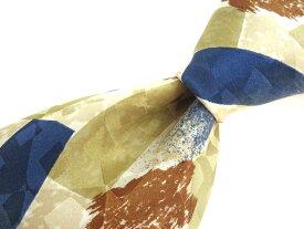 ブランド ネクタイ 【中古】VALENTINO CLAUDIO ヴァレンチノクラウディオ 総柄 良品 メンズ プレゼント 【,r53839,】