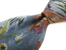 ブランド ネクタイ 【中古】FILA フィラ 総柄 ネクタイ 良品 メンズ プレゼント 【,r63695,】