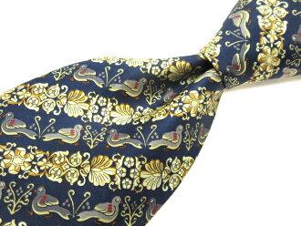 正好名牌旧衣服领带1000日元的Pierre Balmain pierubaruman总花纹领带品质优良的货物人礼物 ※邮费另加道路关键只货到付款冲绳、孤岛不可能