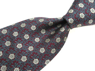 Louisi Fasola Lewis F SORA floral design tie quality goods men present only brand old clothes tie 1,000 yen ※Only as for the collect on delivery, in Okinawa, the remote island, the road pivot according to the postage is impossible