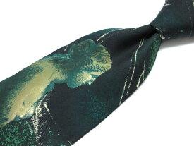 ブランド ネクタイ 【中古】Mantana モンタナ 総柄 ブランド ネクタイ 良品 メンズ プレゼント
