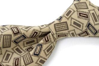 Used brand clothing tie EMILIO BRUNI Emilio Bruni General 02P05Oct15.