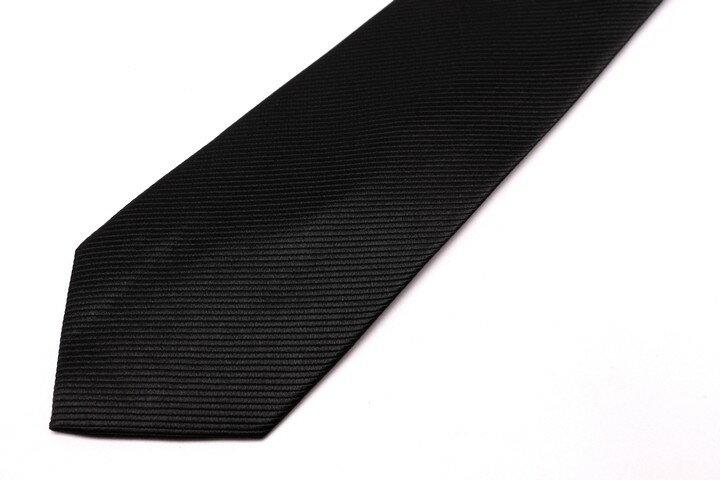リーガル REGAL ストライプ柄 ブラック 黒 シルク ブランド ネクタイ 送料無料 【中古】【美品】