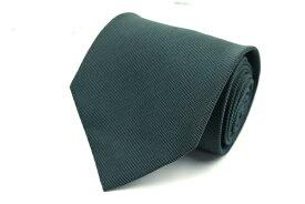 ダナキャラン DONNA KARAN DKNY 日本製 シルク ストライプ柄 グリーン シルク ブランド ネクタイ 送料無料 【中古】【良品】