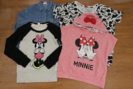 [美品] ディズニー Disney Sサイズ Tシャツ パーカー シャツ 4点セット ミッキー ミニー ドナルド レディース服 トップス オーバーサイズ含む ブランド古着 【中古】