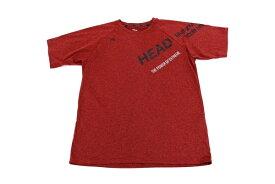 [美品] ヘッド HEAD Lサイズ トレーニングシャツ Tシャツ 半袖 スポーツウェア メンズ 服 ブラウン ブランド古着 【中古】